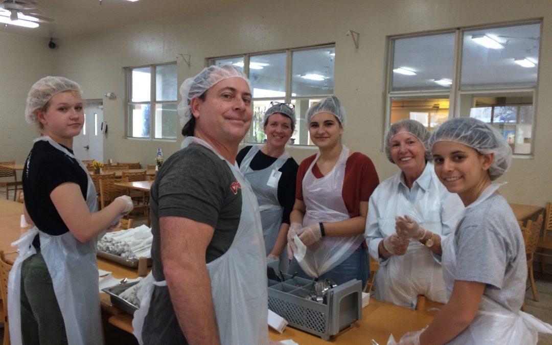 Chapman Partnership Homeless Feeding