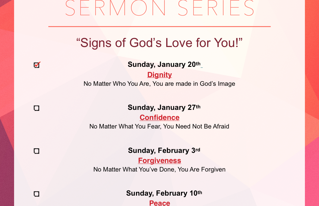 MSPC Core Values Sermon Series