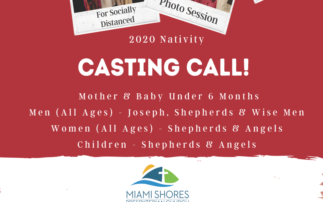 Living Nativity Characters Casting Call