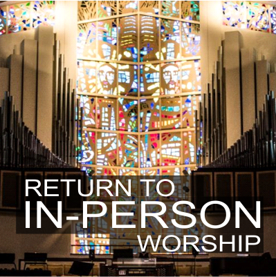 In-Person Worship Resumes November 1