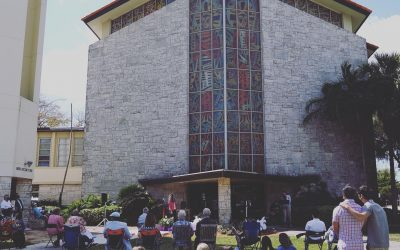 Outdoor In-Person Worship Sundays @ 8:45am