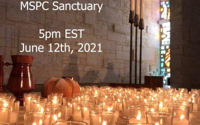 Service of Healing Saturday, June 12 @ 5 pm